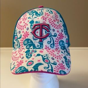 Minnesota twins baseball girl youth cap